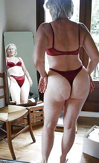 Granny hot ass